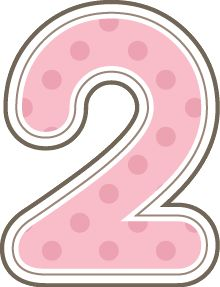 Pink number 2 birthday clipart graphic transparent Free Birthday Cliparts Number 2, Download Free Clip Art ... graphic transparent