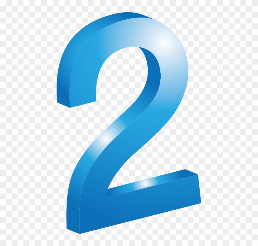 """Numero 2 clipart svg black and white library Free اù""""ø±ù'ù Ø¥ø«ù - Numero 2 Azul Png Clipart (#586766 ... svg black and white library"""