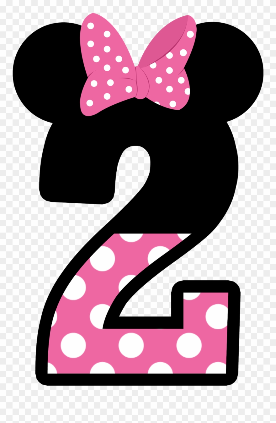 Numero 3 clipart clipart royalty free Numbers Clipart Minnie Mouse - Numero 3 Minnie Rosa - Png ... clipart royalty free