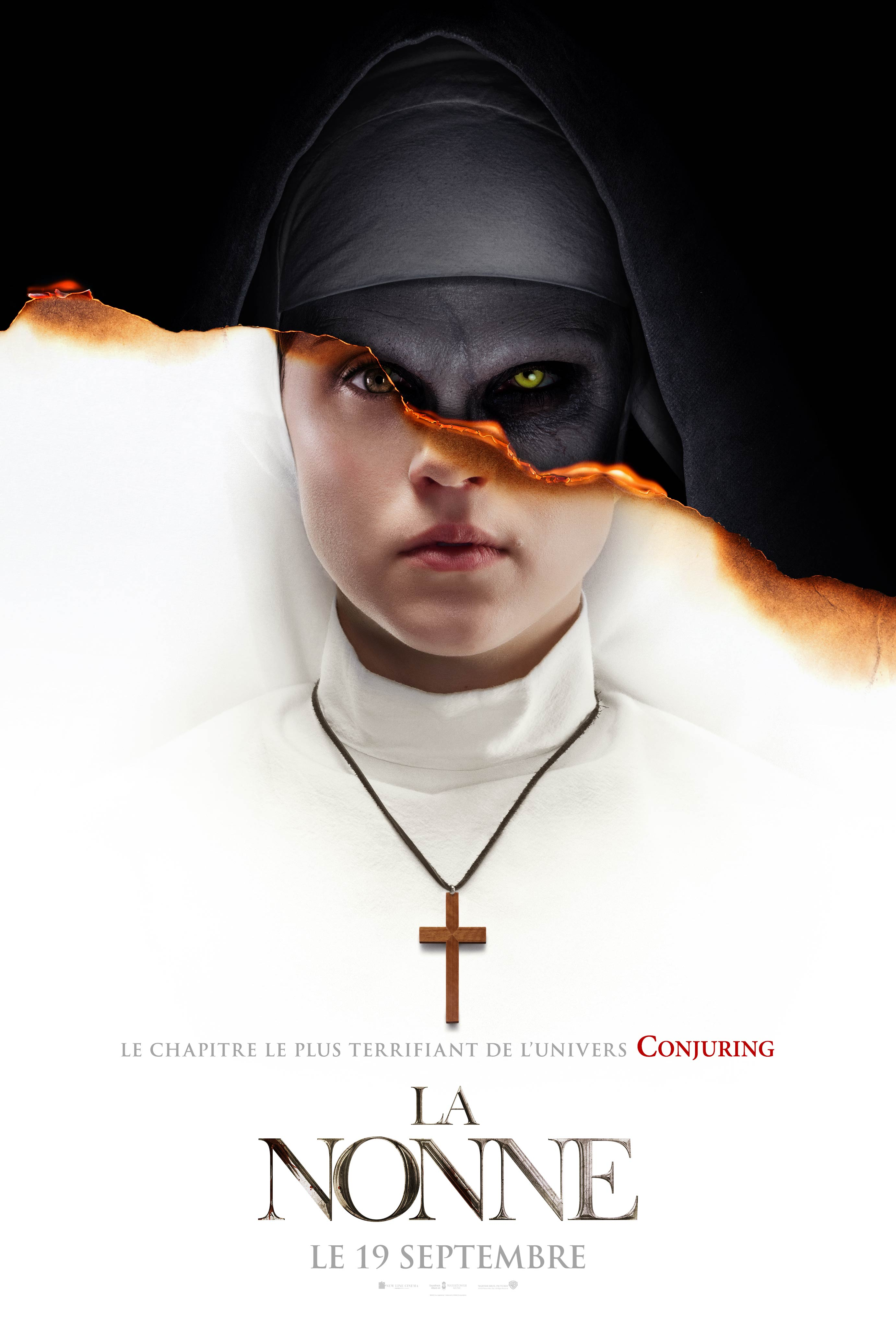 Nun taking a snapshot of the cross cliparts images svg black and white The Nun (2018) - Photo Gallery - IMDb svg black and white