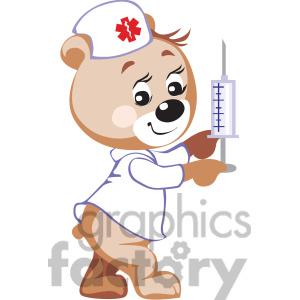 Nurse bear clipart vector black and white download teddy bear nurse holding a | Clipart Panda - Free Clipart Images vector black and white download