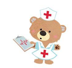 Nurse bear clipart vector transparent library 142 Best Nursing Bears images in 2019 | Nurses, Nursing, Bears vector transparent library