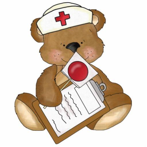 Nurse bear clipart clipart transparent download Nurse Bear photo sculptures | Zazzle.com | Nurses and ... clipart transparent download