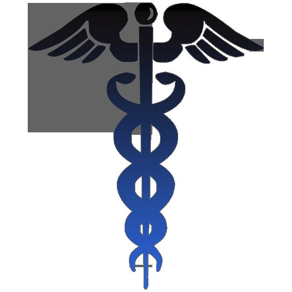 Nurse cross clipart banner library caduceus symbol black blue clipart image - ipharmd.net banner library