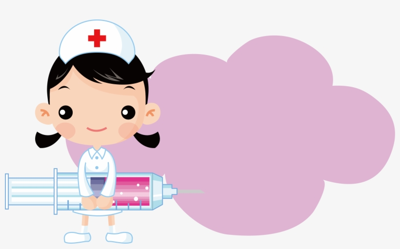 Nurseborder clipart picture freeuse library Image Free Nursing Syringe Injection Section Border - Nurse ... picture freeuse library