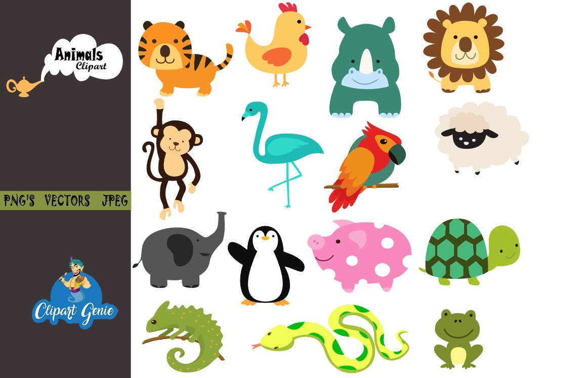 Nursery animal clipart clip black and white clipartgenie on Twitter: \