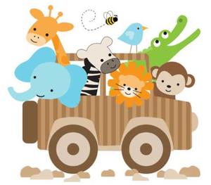 Nursery clipart images clipart library download Jungle Nursery Clipart | Free Images at Clker.com - vector ... clipart library download