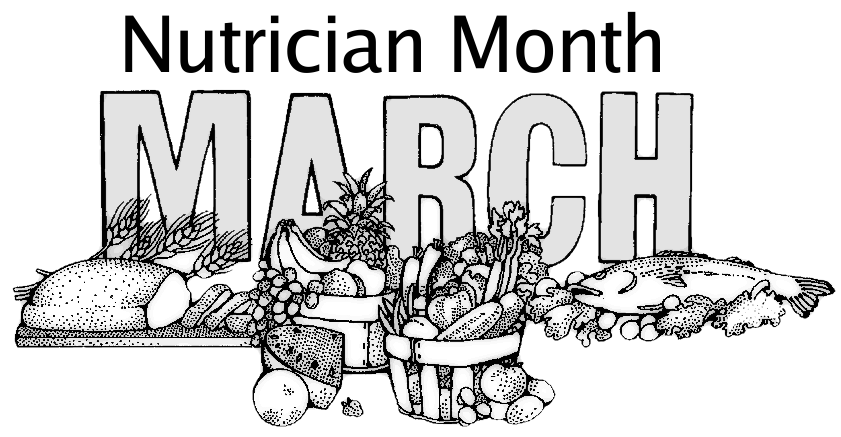 Nutrition month clip art image library download Nutrition Month March Clip Art Download image library download