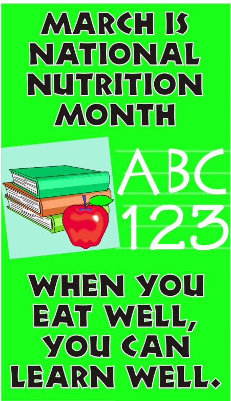 Nutrition month clip art png royalty free download National Nutrition Month Clip Art – Clipart Free Download png royalty free download