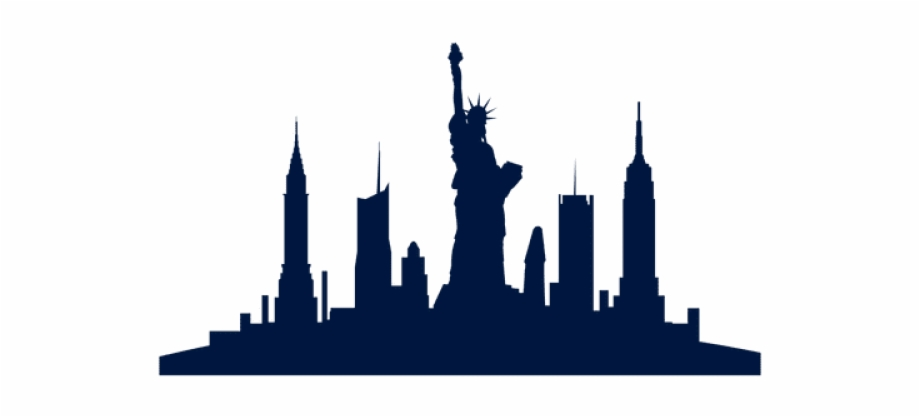 Ny skyline clipart png library library New York Skyline Png Free PNG Images & Clipart Download ... png library library