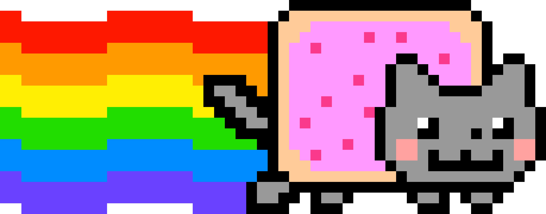 Nyan cat clipart transparent stock Nyan Cat | Maze Ideas 2016 | Pinterest transparent stock
