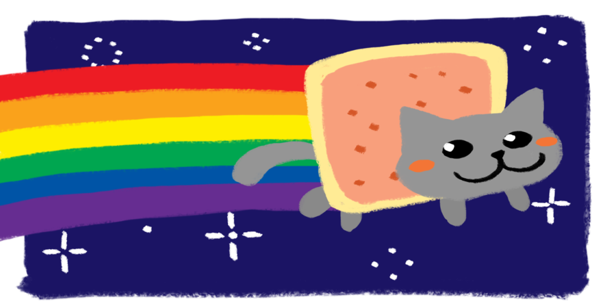 Nyan cat clipart image library CyBeRGaTa: For the Love of Poptart/Nyan Cat - Fan Art image library