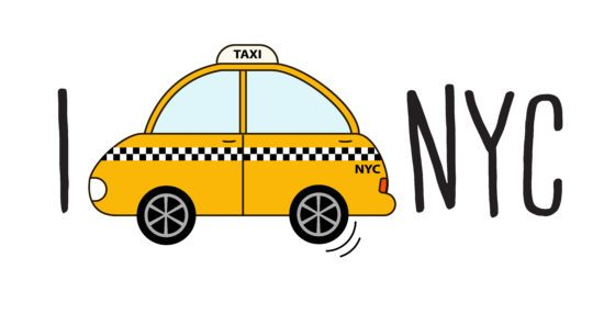 Nyc taxi clipart jpg freeuse Nyc taxi clipart 2 » Clipart Portal jpg freeuse