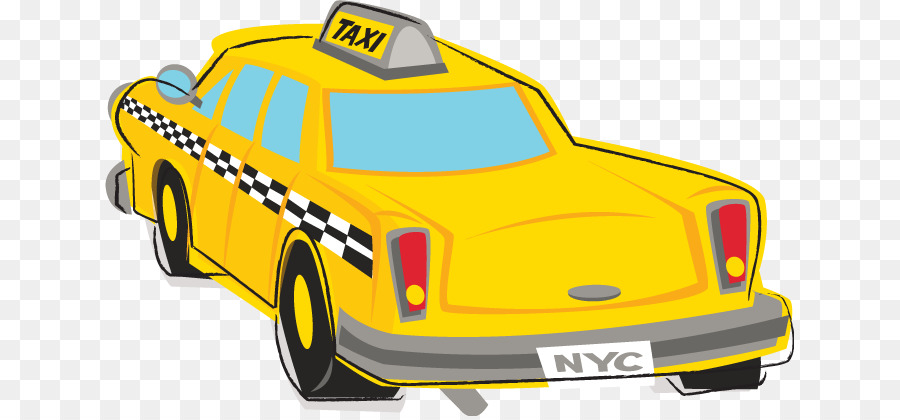 Nyc taxi clipart svg royalty free New York City clipart - Taxi, Car, Yellow, transparent clip art svg royalty free
