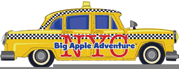 Nyc taxi clipart vector free library Nyc Taxi Clipart | Free Images at Clker.com - vector clip ... vector free library
