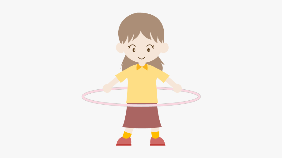 Nymphet clipart black and white stock Hula Hoop / Girl - イラスト #967020 - Free Cliparts on ... black and white stock