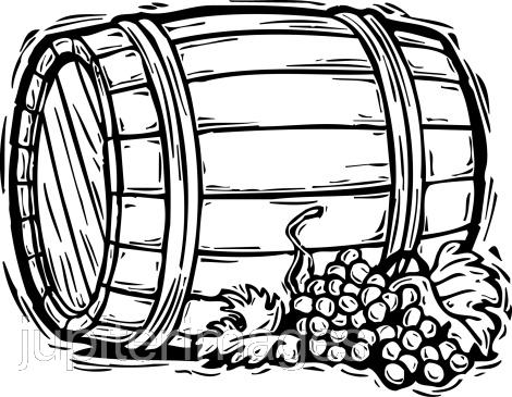 Oak barrel clipart picture black and white Wine Barrel Pictures | Free download best Wine Barrel ... picture black and white