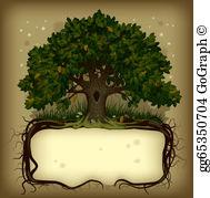 Oak creek clipart jpg freeuse download Oak Tree Clip Art - Royalty Free - GoGraph jpg freeuse download