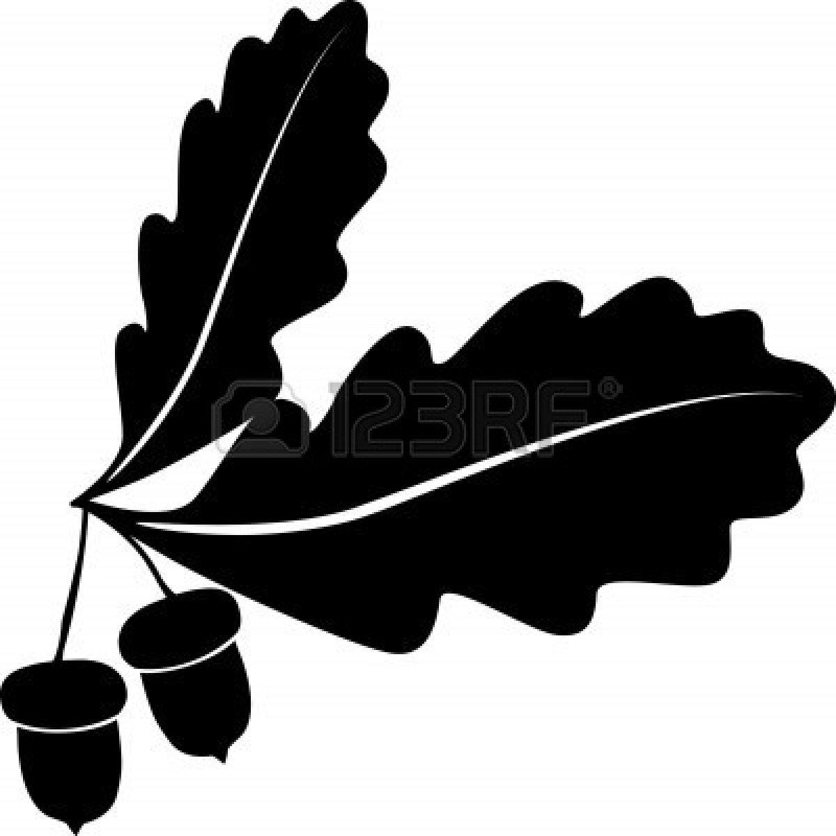 Oak leaf clip art black and white clip transparent stock Oak leaf clip art black and white - ClipartFox clip transparent stock