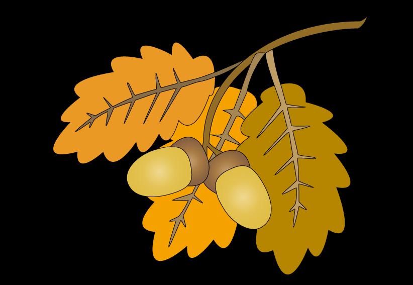Oak tree leaf clipart image library download oak leaves raster painting end clipart. image library download