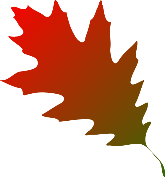 Oak tree leaf clipart clipart royalty free stock Autumn Leaf Red Green Clip Art at Clker.com - vector clip art online ... clipart royalty free stock