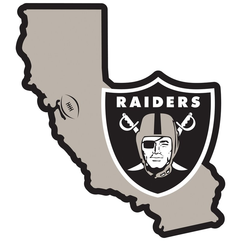 Oakland raider clipart graphic black and white Oakland Raiders Clipart (92+ images in Collection) Page 2 graphic black and white