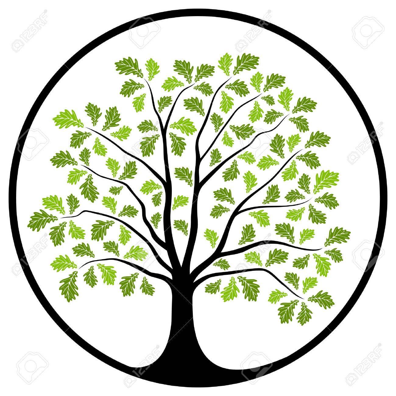 Oaktree clipart vector free library Oak tree free clipart 3 » Clipart Station vector free library