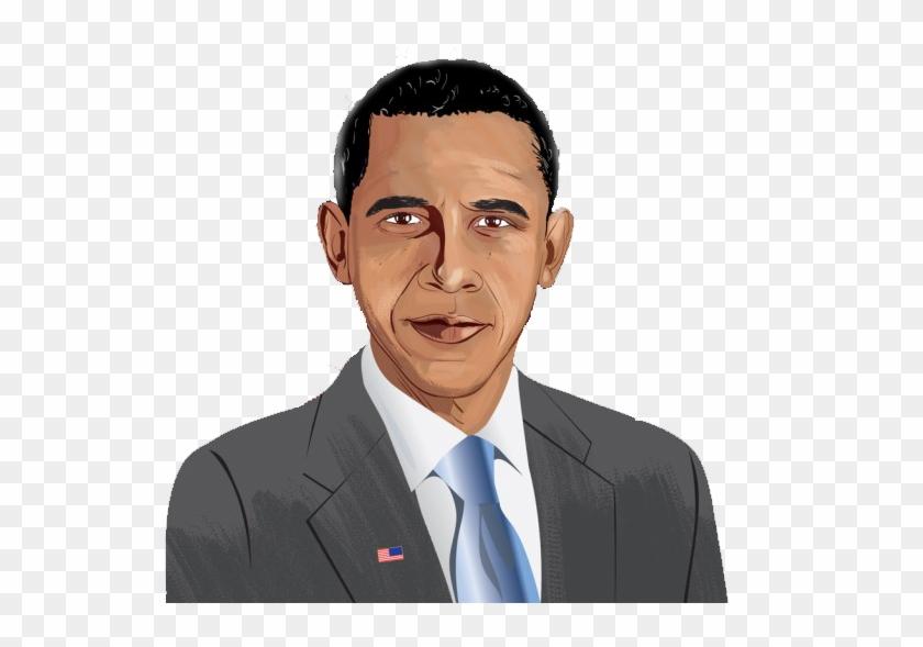 Obama clipart svg royalty free Funny Obama Clipart - Clip Art, HD Png Download - 600x600 ... svg royalty free