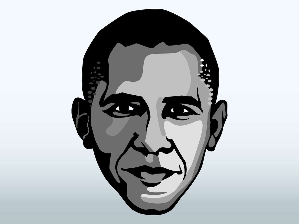 Obama face clipart graphic library library Free Barack Obama Cliparts, Download Free Clip Art, Free Clip Art on ... graphic library library