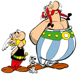 Obelix clipart banner library download Asterix - Idefix y Obélix | Illustrations - old favourites ... banner library download