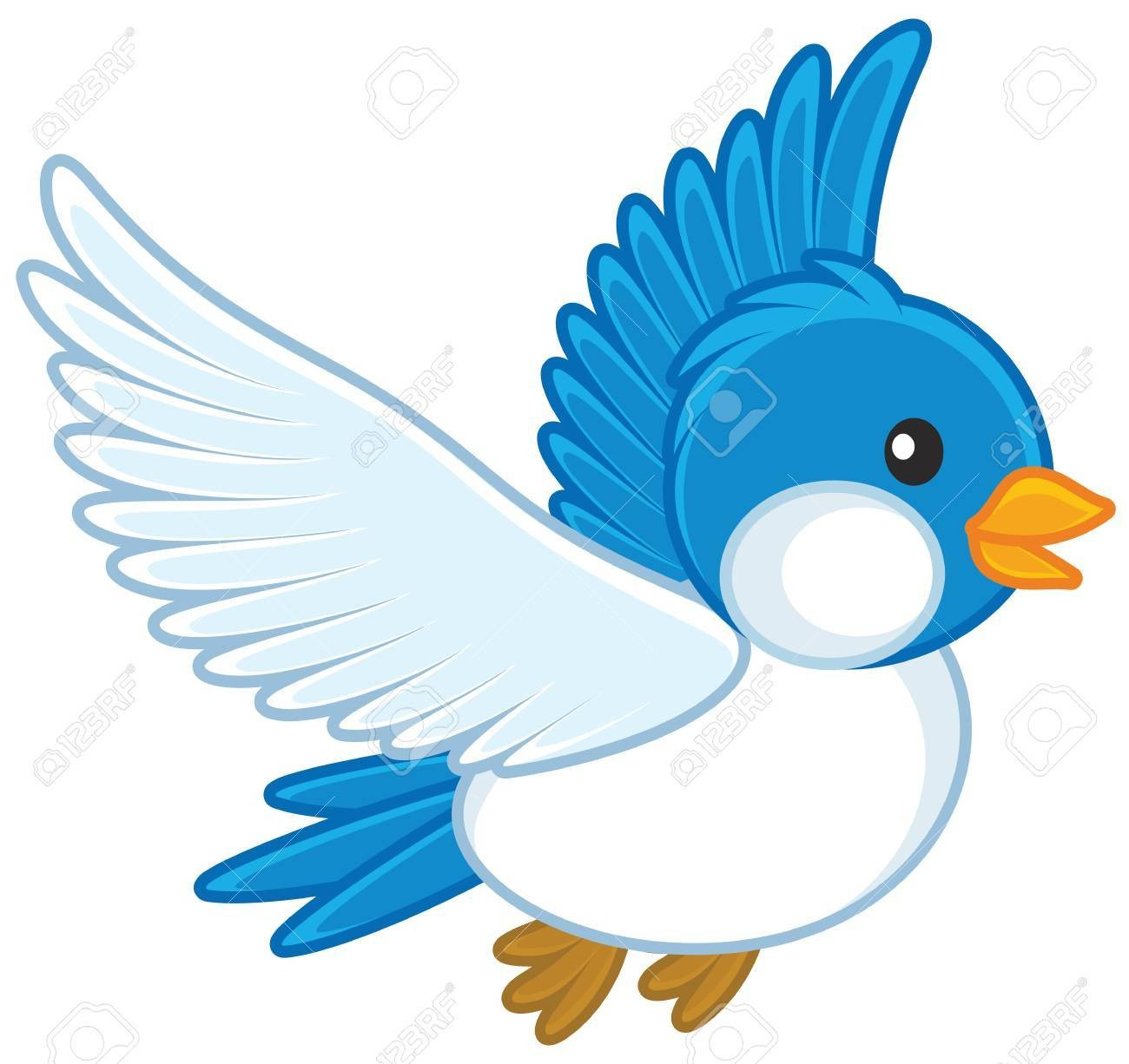 Obird clipart clipart royalty free download In Blue Bird Clipart 70985971 | Clip Art clipart royalty free download