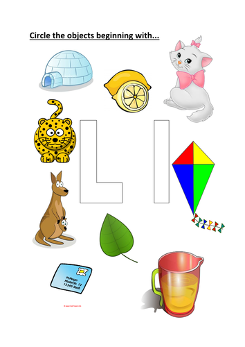 Objects that starts with letter a clipart svg free library circle objects that start with the letter L svg free library