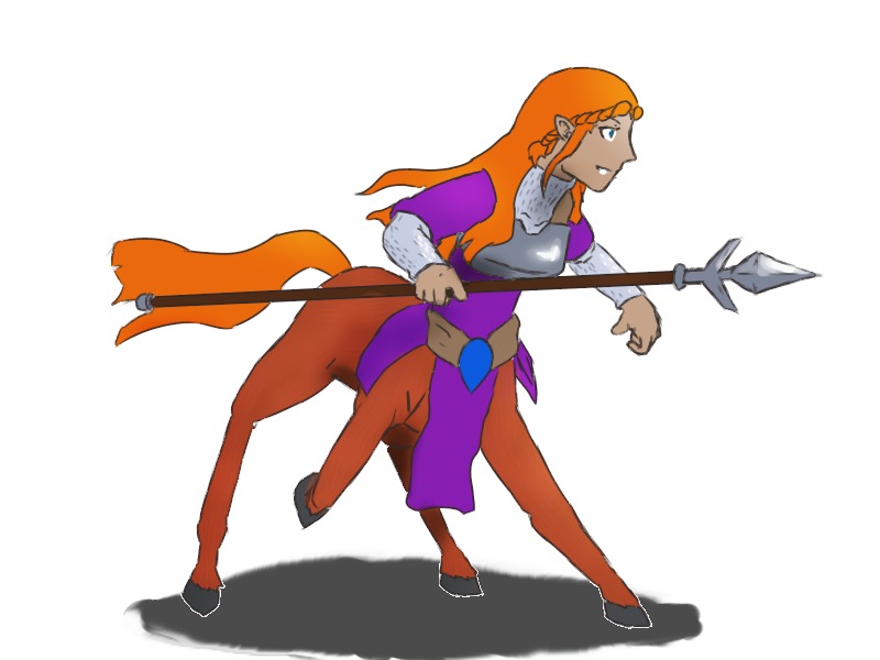 Obnoxious clipart png library Monster Girl 2 - Centaur by Obnoxious-Canary on Clipart library ... png library