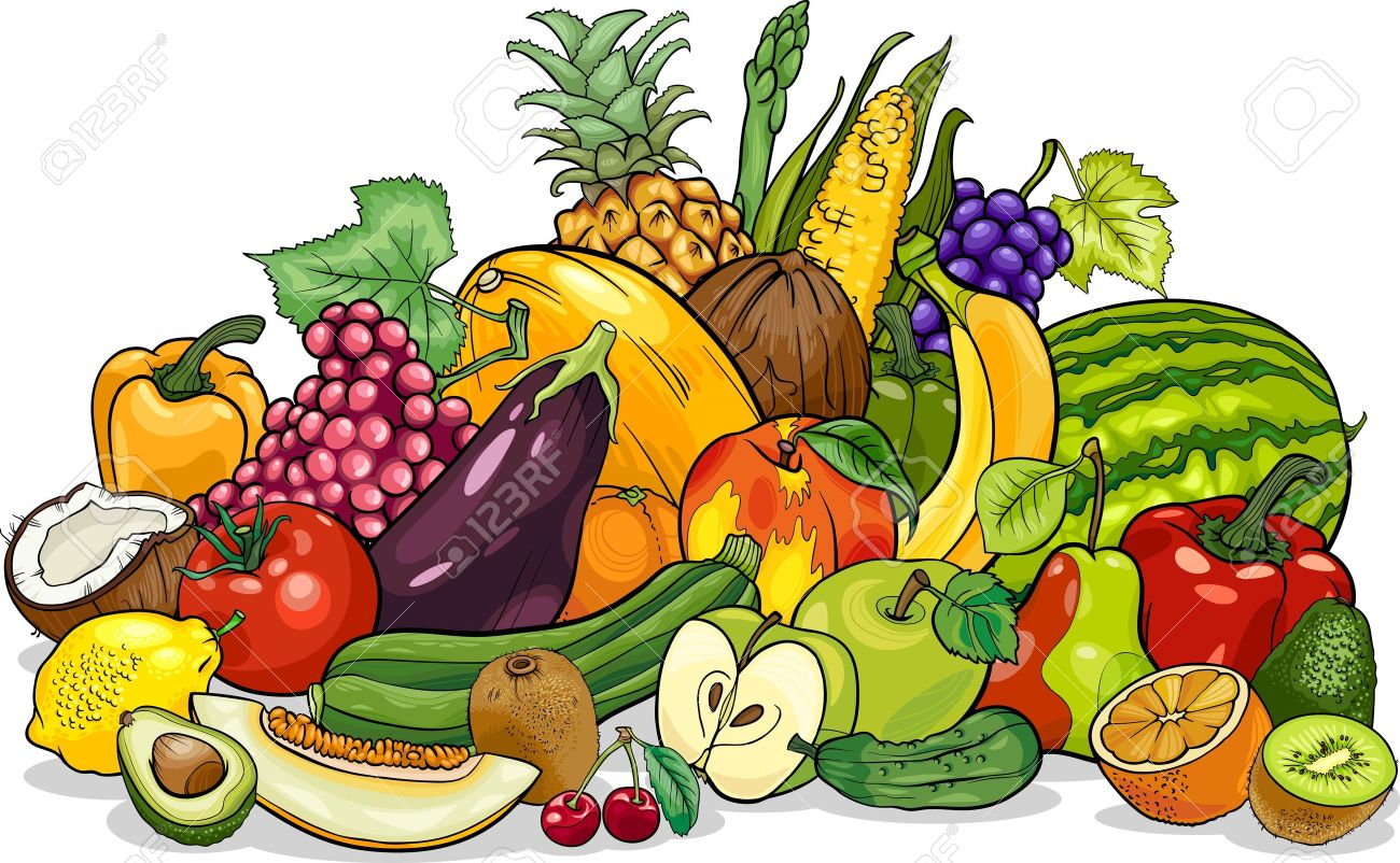 Obst und gemse clipart png freeuse library Obst gemüse korb clipart - ClipartFox png freeuse library