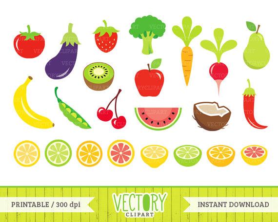 Obst und gemse clipart jpg transparent download 23 Obst und Gemüse-ClipArt gesunde Lebensmittel Clipart jpg transparent download