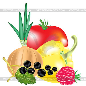 Obst und gemse clipart jpg stock Clipart obst - ClipartFest jpg stock