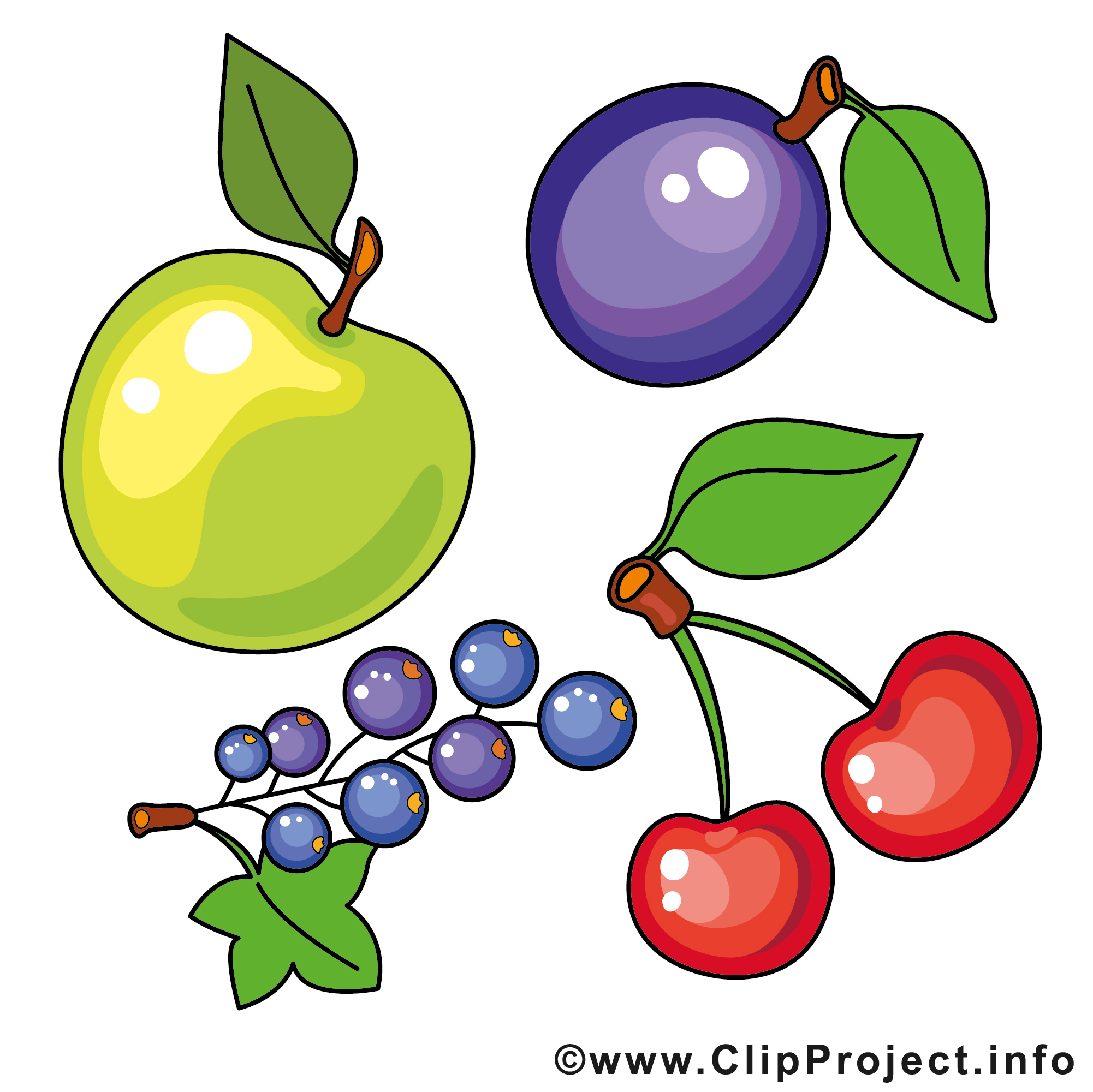Obst und gemse clipart clipart royalty free library Cliparts obst - ClipartFox clipart royalty free library