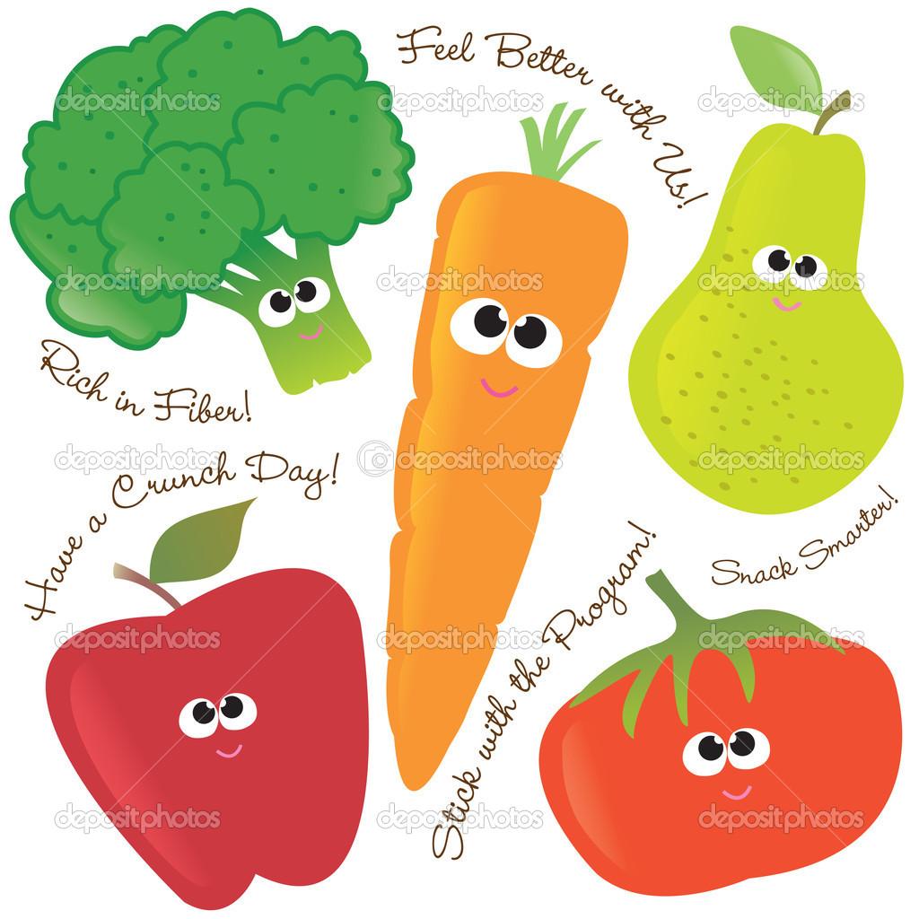Obst und gemse clipart graphic free stock Veggie Tray Clipart - Clipart Kid graphic free stock