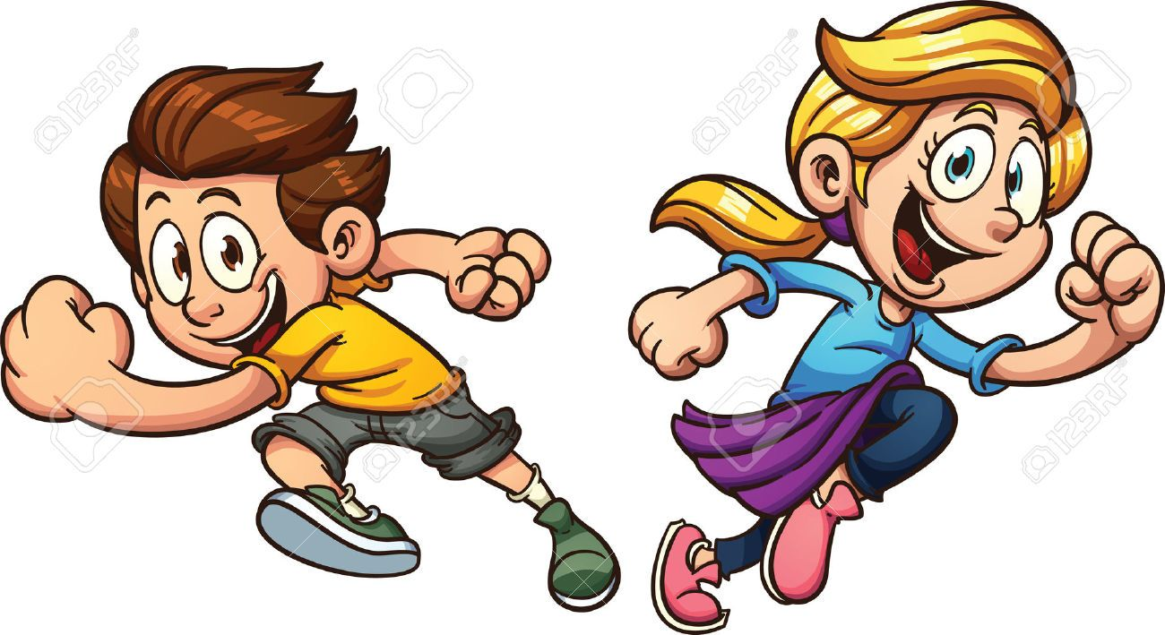 Kids running around clipart picture royalty free download Image result for running obstacle course, clipart | RUNNING THE RACE ... picture royalty free download