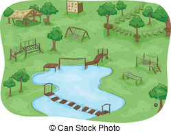 Obstacle course clipart image black and white download Obstacle course Clipart and Stock Illustrations. 445 Obstacle course ... image black and white download