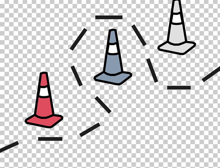 Obstacle course clipart svg transparent download Traffic Cone Obstacle Course Line Area PNG, Clipart, Angle, Area ... svg transparent download