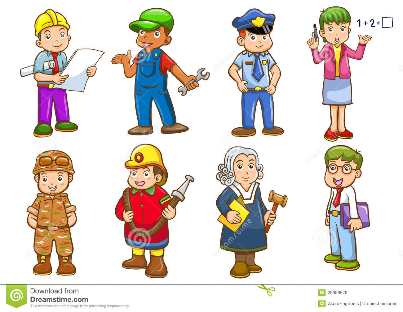 Occupation images clipart clip freeuse stock Occupation Clip Art For Kids | Clipart Panda - Free Clipart Images clip freeuse stock