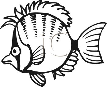 Ocean clipart friendly fish black and white clipart library download Fish Black And White Clipart | Free download best Fish Black And ... clipart library download