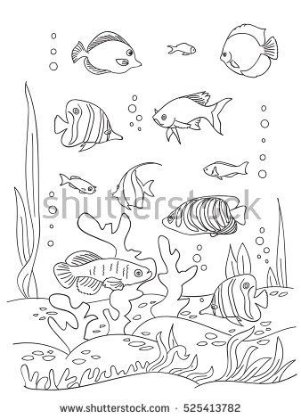 Ocean floor clipart black and white picture library download Ocean Floor Drawing at PaintingValley.com | Explore collection of ... picture library download