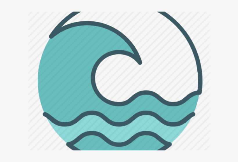 Ocean icon clipart svg stock Tsunami Clipart Ocean Wave - Sun And Sea Icons Transparent ... svg stock