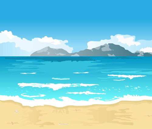 Ocean landscape clipart clip free library Free Seaside Cliparts, Download Free Clip Art, Free Clip Art ... clip free library