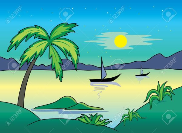 Ocean landscape clipart banner royalty free download 25+ Free Clip Art Ocean Landscape Pictures and Ideas on Pro ... banner royalty free download