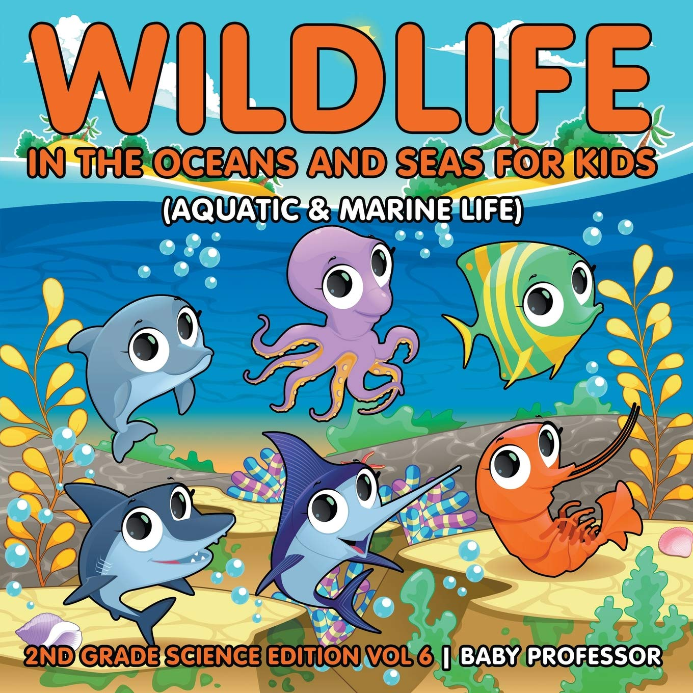 Ocean life in the garden of eden clipart picture Wildlife in the Oceans and Seas for Kids (Aquatic & Marine ... picture