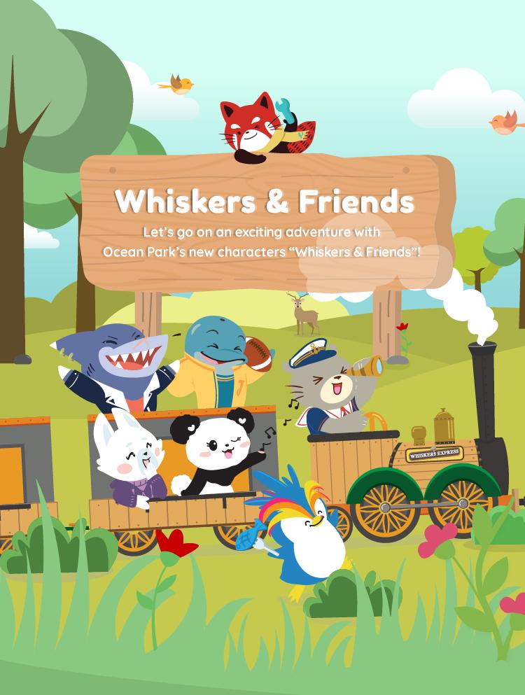 Ocean park logo clipart image black and white download Whiskers & Friends image black and white download