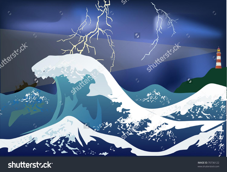 Ocean storm clipart picture transparent Storm clipart sea storm - 54 transparent clip arts, images and ... picture transparent